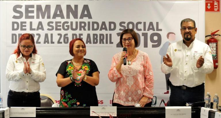 """En la """"Semana de la Seguridad Social 2019"""", el IPE da a conocer sus servicios: Adriana Esther Martínez"""