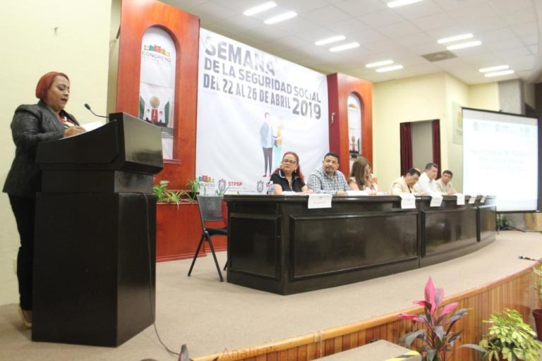 Inauguran Diputados de Morena, Semana de la Seguridad Social 2019