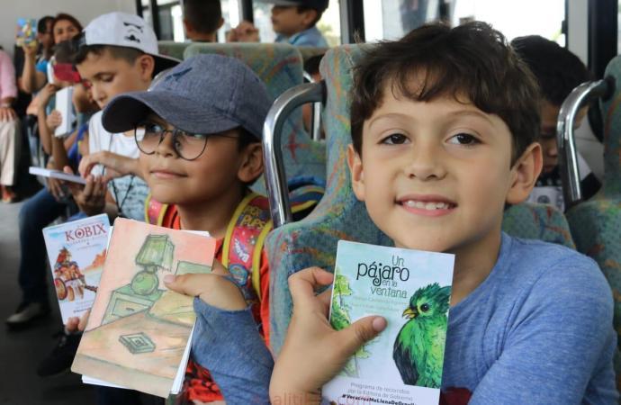 """Con """"Mi visita a la Editora"""", Gobierno de Veracruz promueve lectura y recreación de la niñez"""