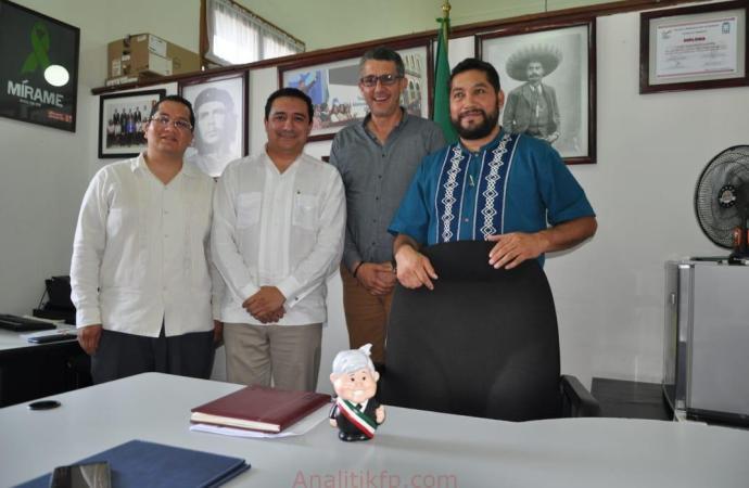 ESBAO, tras 148 años de su fundación, por fin tendrá certeza jurídica: Diputado Víctor Vargas