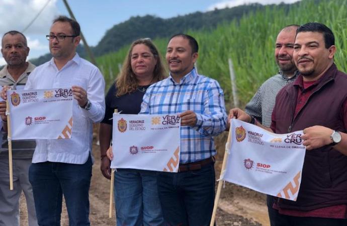 Infraestructura rural para desarrollar las comunidades de Veracruz: Gómez Cazarín