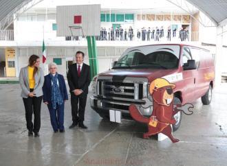Arranca gobernador Cuitláhuac García programa para reparación de mobiliario escolar