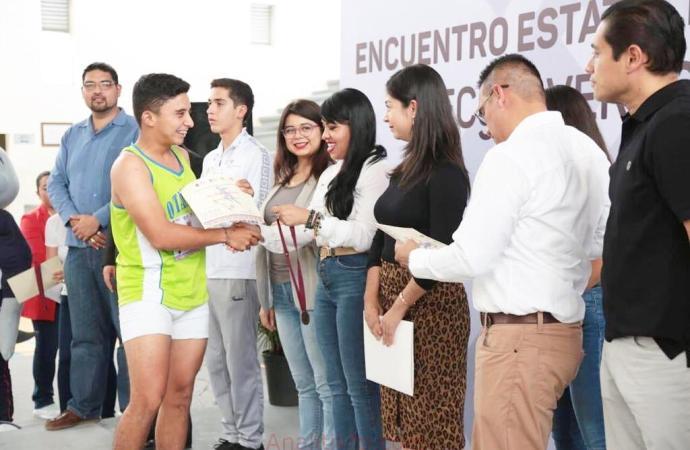 Participan 64 estudiantes en el Estatal Deportivo Sede Atletismo 2019