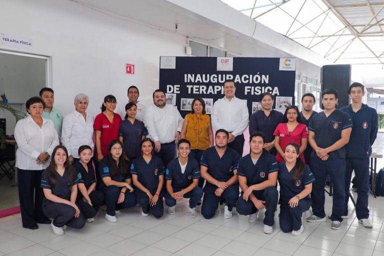 DIF de Coatepec inaugura área de Terapia Física