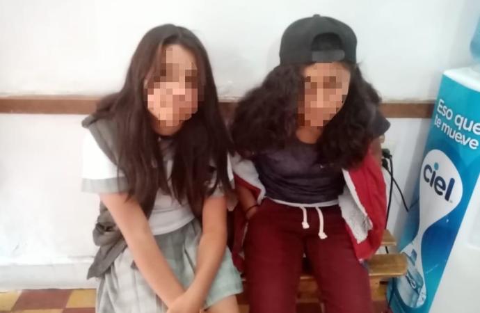 Menores localizadas en Coatepec