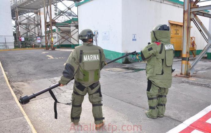 SECRETARÍA DE MARINA-ARMADA DE MÉXICO REALIZA PRÁCTICA DE PROTECCIÓN MARÍTIMA Y PORTUARIA NIVEL III, EN VERACRUZ