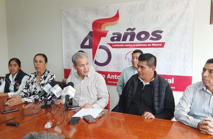 Puebla sede de 45 Aniversario Antorchista
