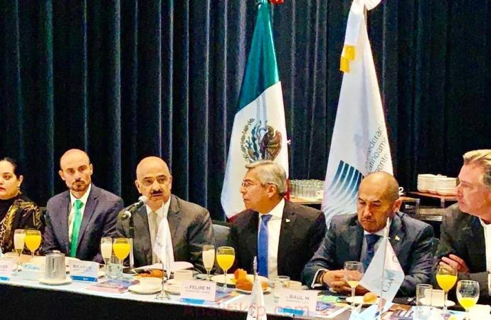 Puertas abiertas para atender las necesidades del sector para consolidar el comercio exterior del país: Ahued Bardahuil