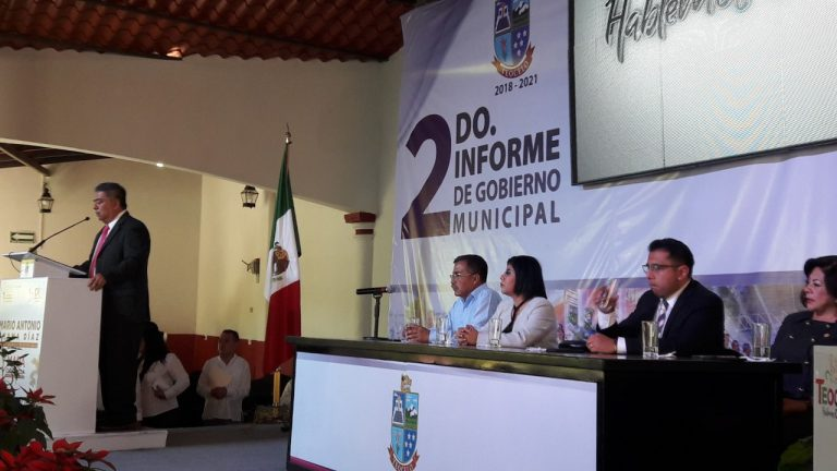 Mario Chama Díaz, en Sesión Solemne de Cabildo rinde su Segundo Informe de Labores