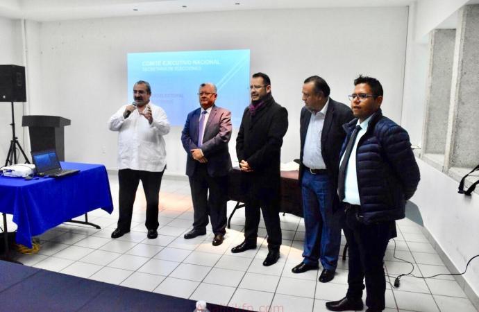 Inicia CDE PAN formación de ejército electoral