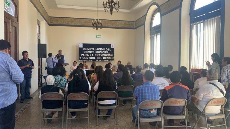Comité Municipal para la Prevención y Control del Dengue en Coatepec