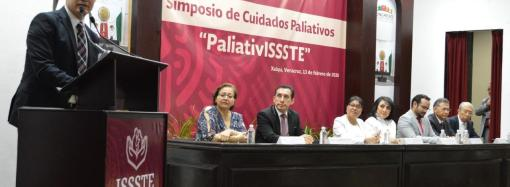 "SE SUMA ISSSTE-VERACRUZ AL PROGRAMA NACIONAL ""PALIATIVISSSTE"""