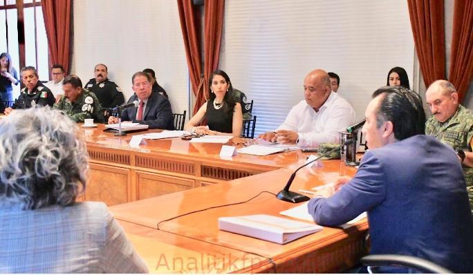 Mesa de Coordinación para la Construcción de la Paz, refuerza gobernabilidad del Estado: Pozos Castro