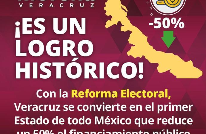 Avalan 127 cabildos la Reforma Electoral; este es un día histórico para Veracruz: GL de Morena
