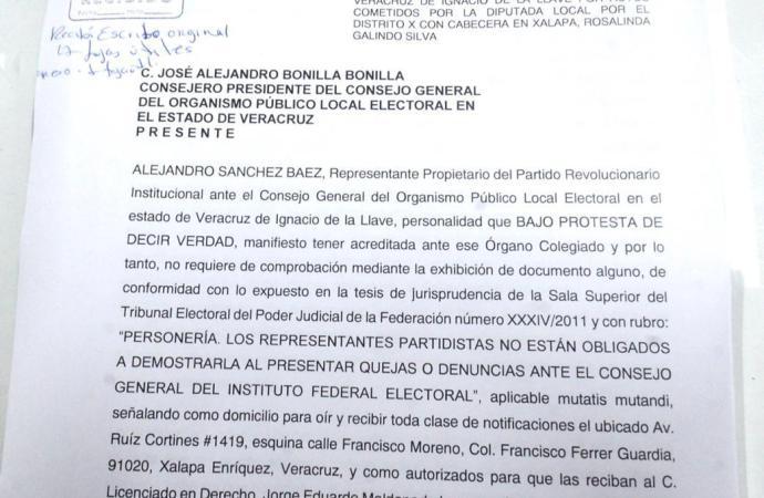 MORENA pretende comprar votos colgándose de los eventos del Gobierno de Veracruz: PRI