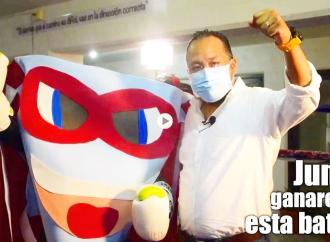 Mascarita Tapada el superhéore de la concientización para el uso del cubrebocas: Omar Miranda