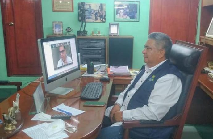 Conversatorio a alcaldes veracruzanos