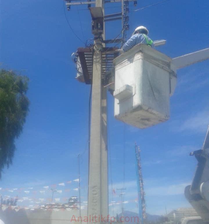 Luminarias a Xaltepec