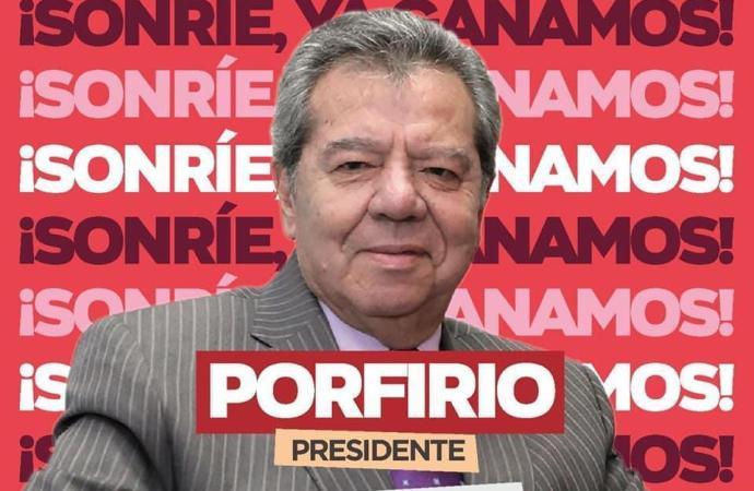 Triunfa Porfirio Muñoz Ledo, ya es Presidente Nacional de MORENA