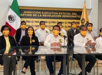 PRD levanta la mano contra gobierno veracruzano de MORENA