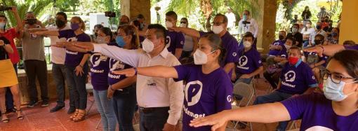 Misantla ya tiene comité municipal del Partido Podemos: Francisco Garrido
