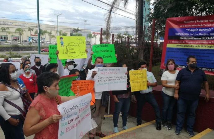 Que no desaparezcan escuelas de tiempo completo en Veracruz