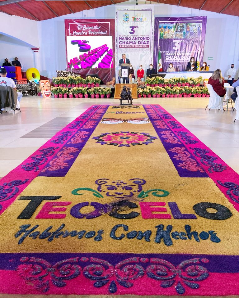 3er. Informe de Gobierno Municipal en Teocelo