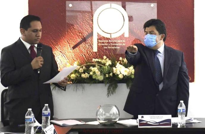 Se instala nuevo Pleno y toma protesta Silverio Quevedo Elox como Comisionado Presidente