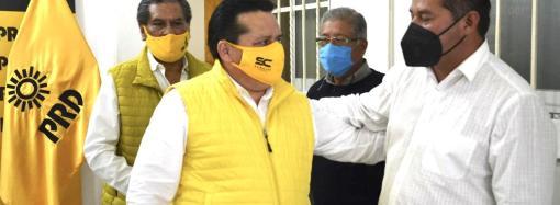 Un éxito, registro de planillas municipales del PRD: Sergio Cadena