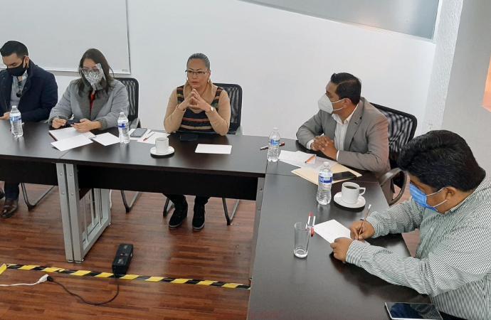 Autoridades CEDH coordinarán acciones institucionales con CEAPP