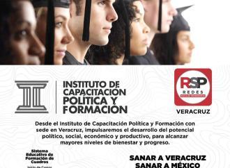 """""""Instala Redes Sociales Progresistas Veracruz Instituto de Capacitación Política y Formación"""""""