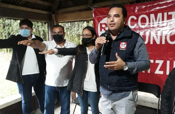 RSP instala comité municipal en Coatcoatzintla