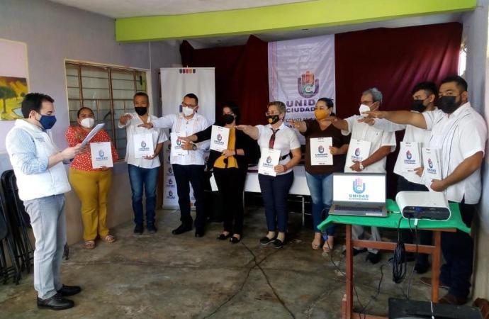 Mujeres de Vega de Alatorre respaldan trabajo político de Unidad Ciudadana