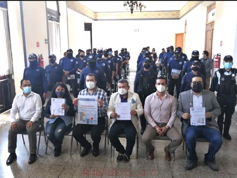 El Frente Mexicano Pro Derechos Humanos, capacita a elementos de la Policía Municipal