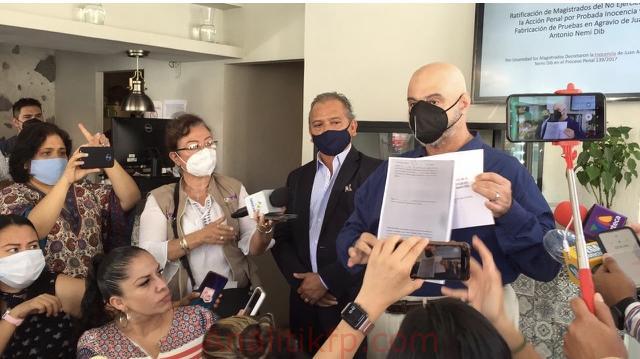 Yo soy inocente, aquí están las pruebas y fui un preso político: Toño Nemi