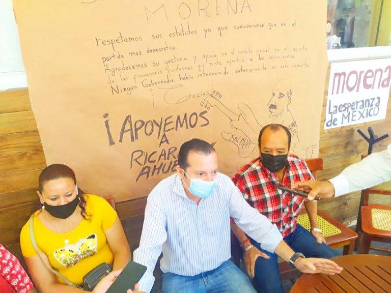 Ciudadanos piden a Morena que Ahued sea su candidato