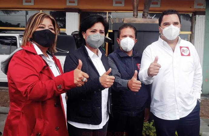 RSP DA BANDERAZO DE ARRANQUE DE CAMPAÑAS A DIPUTADOS FEDERALES