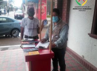 Módulo itinerante CEDH visitó Pueblo Viejo