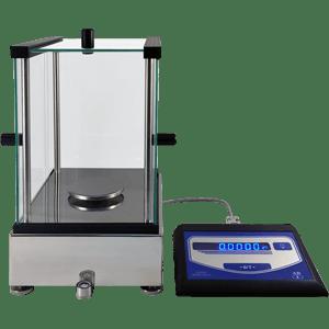Аналитические весы серии АВ, точность 0,0001 г, чашка 85 мм, черные - ОКБ Веста