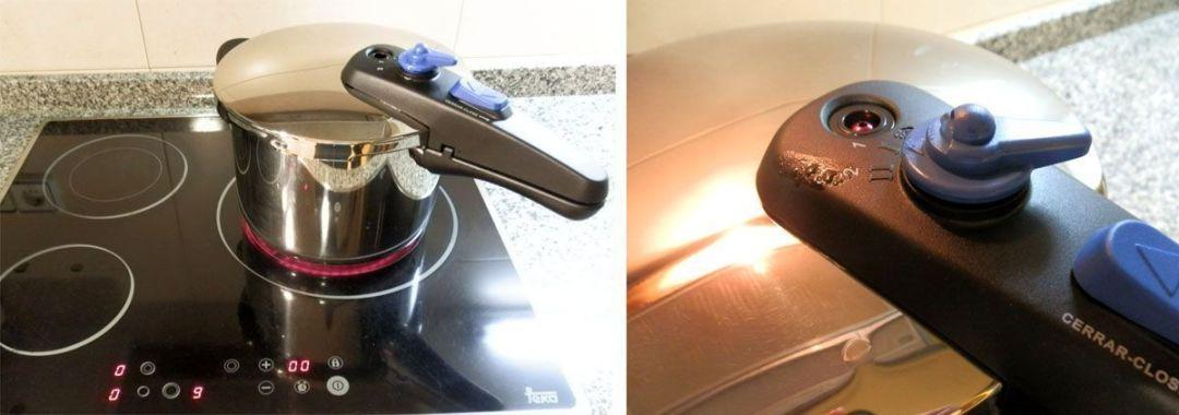 Monix Veloce - calentar la olla en vitroceramica