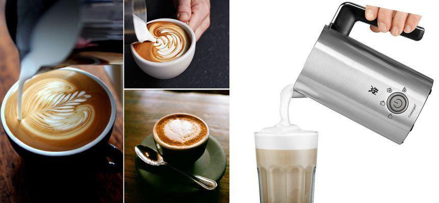 Vaporizador de leche - emulsionador