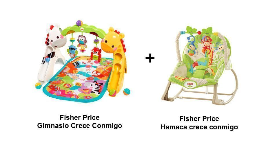 pack gimnasio bebe fisher price crece conmigo