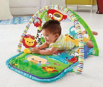 gimnasio bebe Fisher Price Gimnasio Musical Animalitos