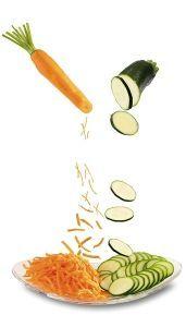 verduras ralladas