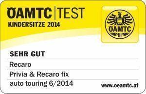 OAMTC test recaro privia