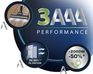 eficiencia triple a compact power cyclonic