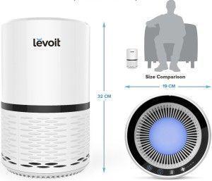 relación tamaño purificador Levoit h132