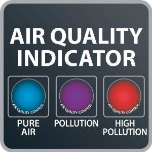 colores sensor purificador rowenta