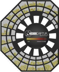 filtro nanocaptur purificador rowenta