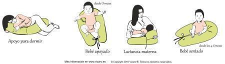 usos almohada materna